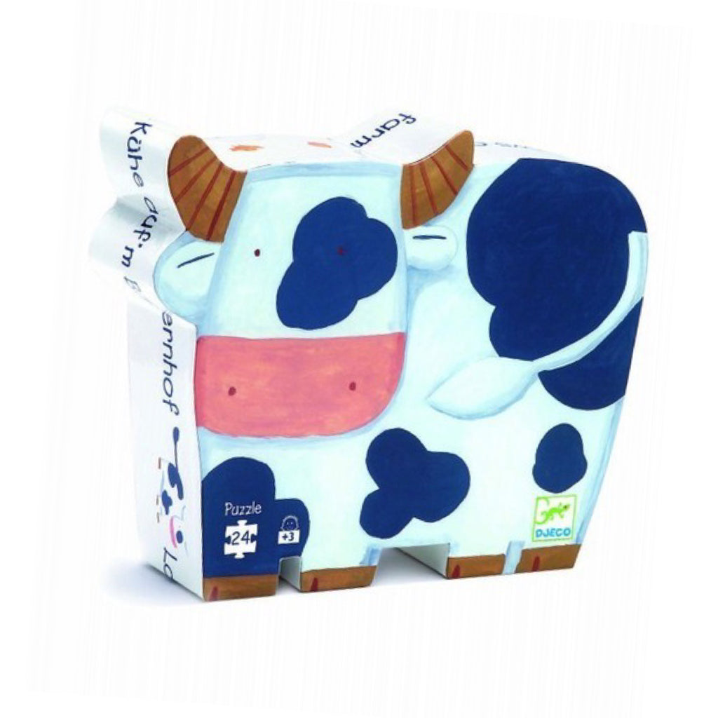 Djeco - The Cows on the Farm Puzzle - Rourke & Henry Kids Boutique