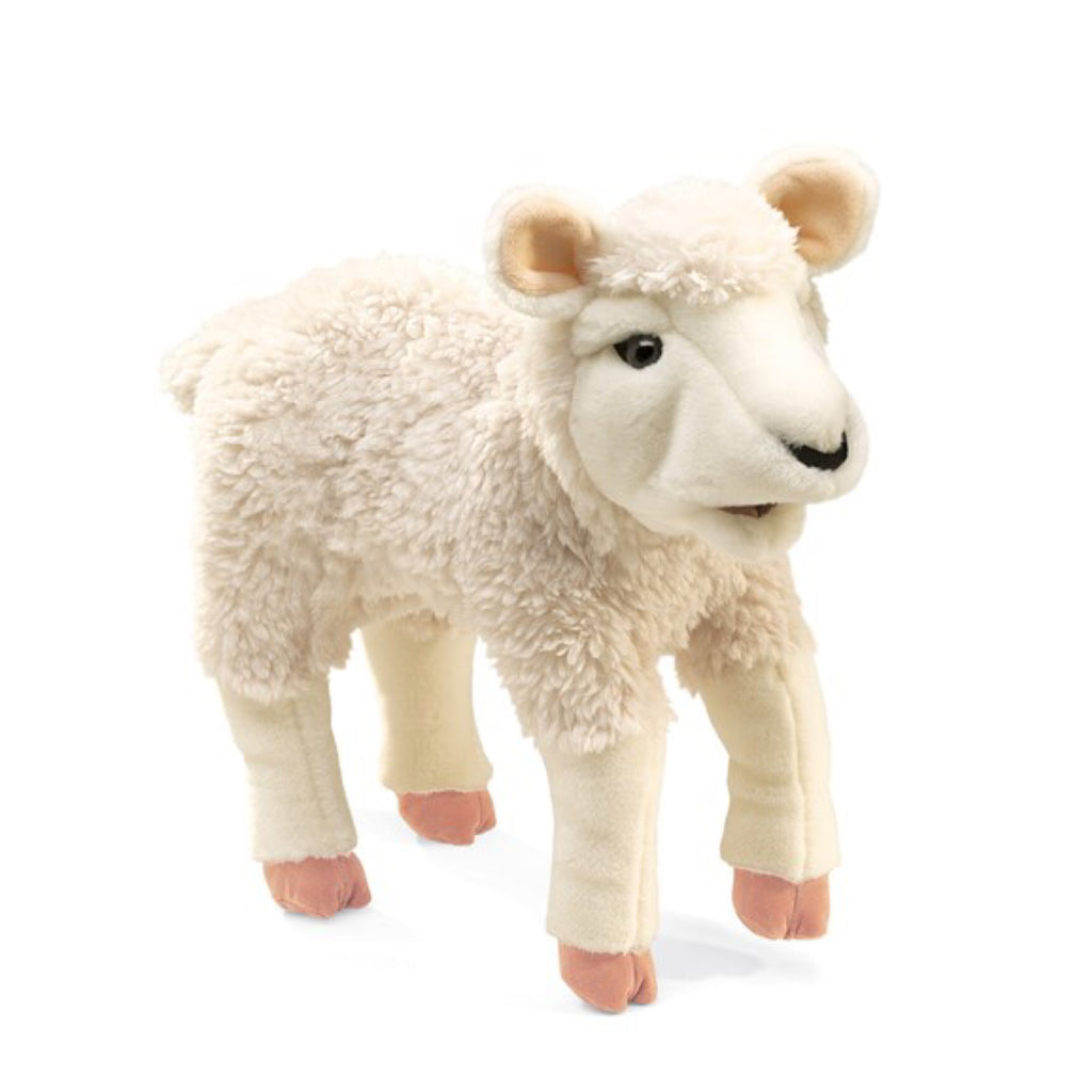 Folkmanis - Puppet Lamb - Rourke & Henry Kids Boutique