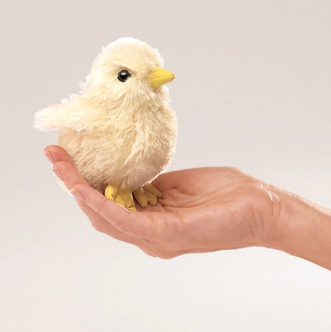 Folkmanis - Finger Puppet Chick - Rourke & Henry Kids Boutique