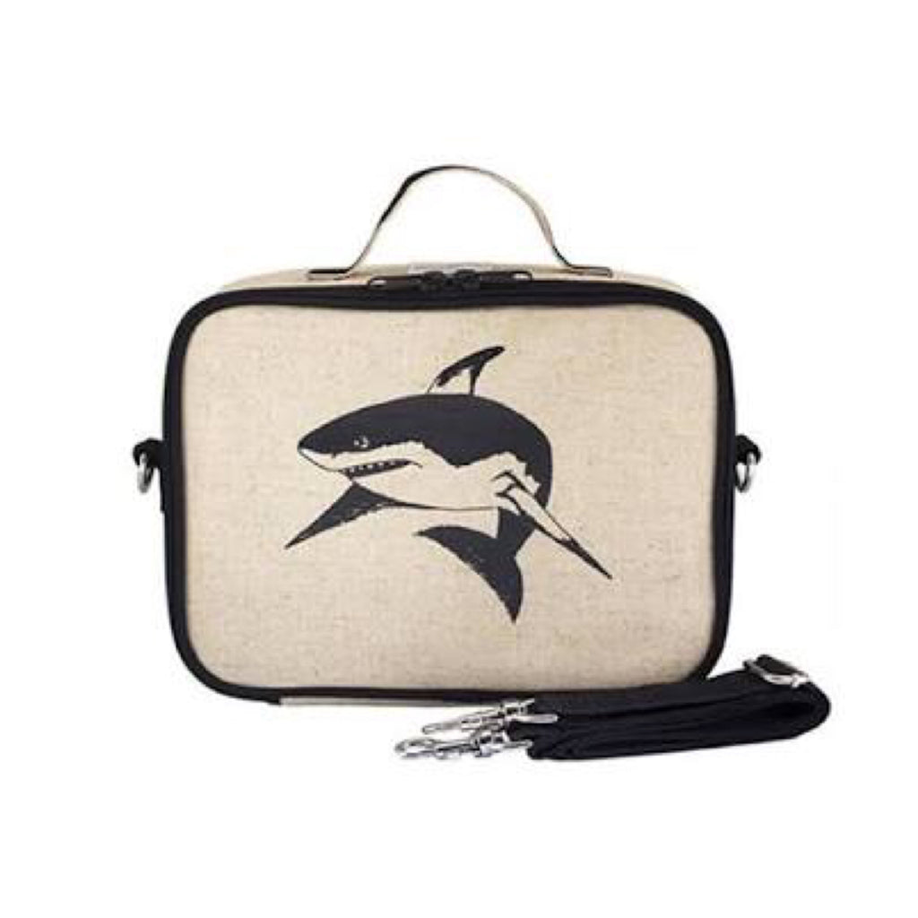 So Young Lunch Bag Shark - Rourke & Henry Kids Boutique