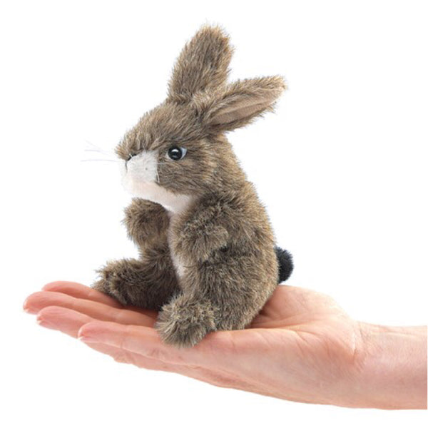 Folkmanis - Finger Puppet Rabbit - Rourke & Henry Kids Boutique