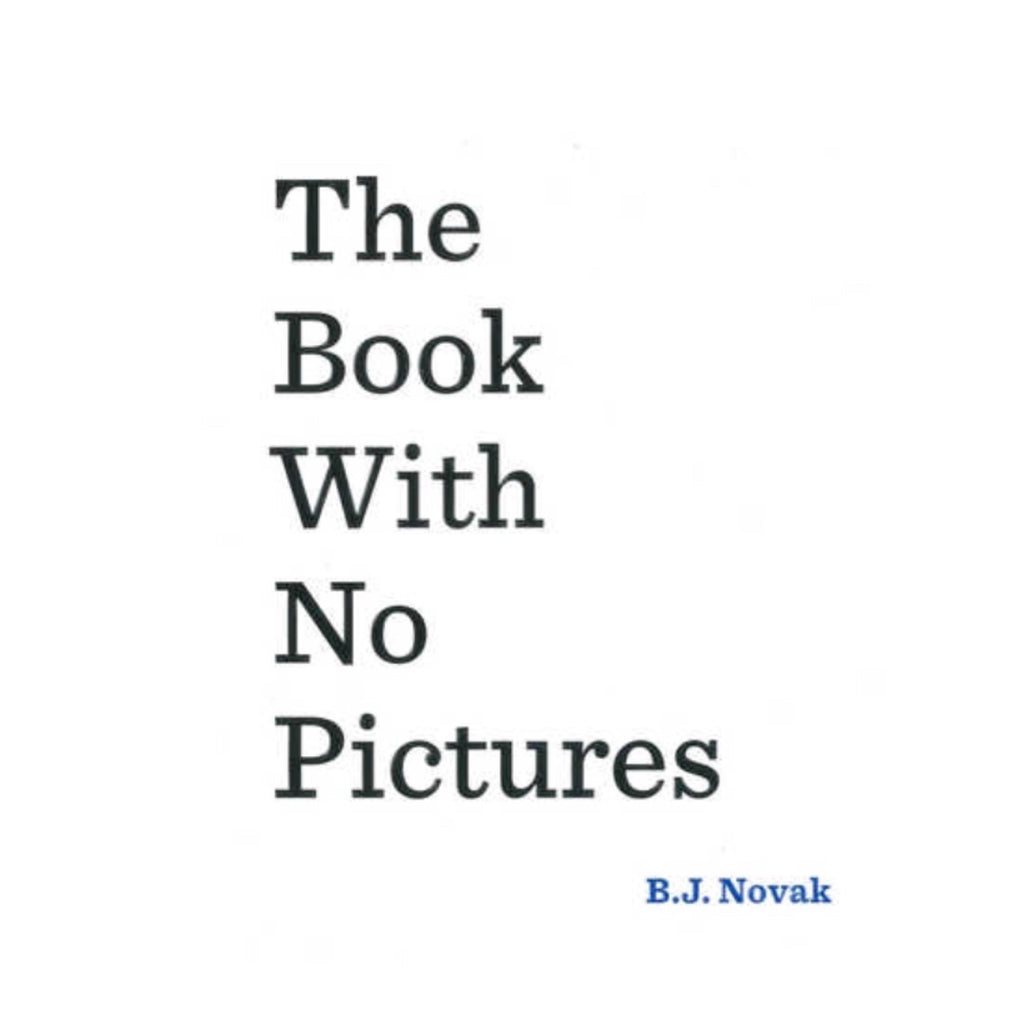 The Book With No Pictures - Rourke & Henry Kids Boutique