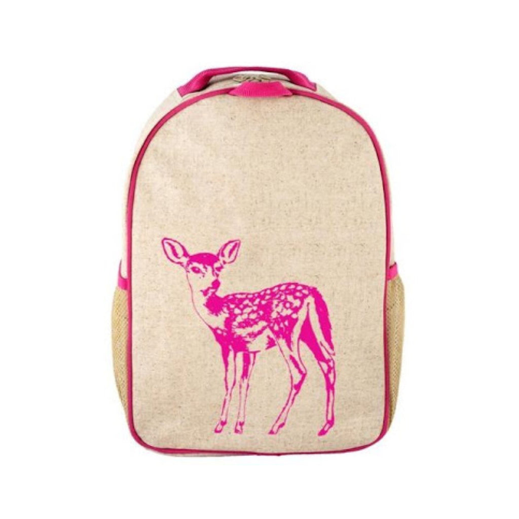 So Young Large Backpack Fawn - Rourke & Henry Kids Boutique