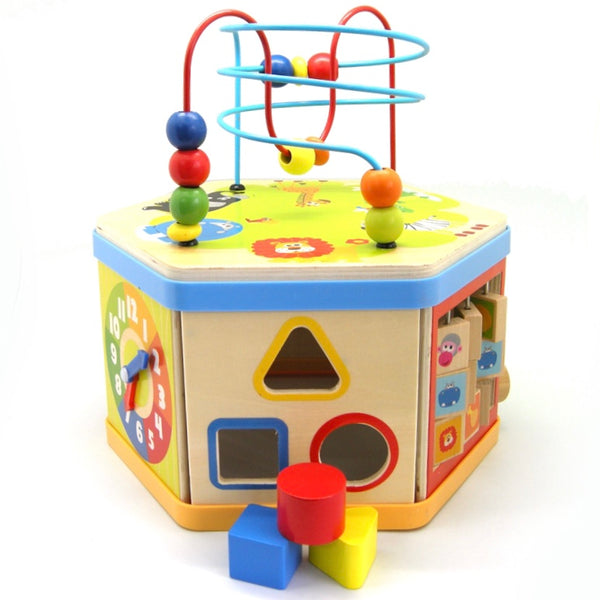 Activity Station - Wooden 7 in 1 - Rourke & Henry Kids Boutique