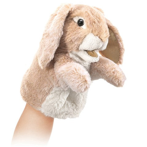 Folkmanis - Puppet Little Lop Ear Bunny - Rourke & Henry Kids Boutique
