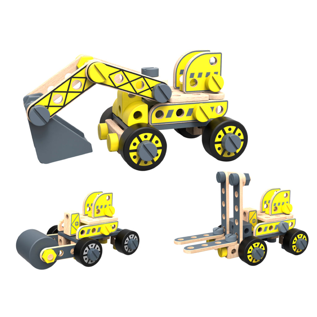 Wooden DIY Excavation Construction Set - Rourke & Henry Kids Boutique
