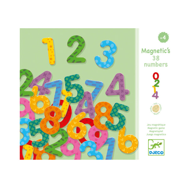 Djeco - Magnetic Numbers - Rourke & Henry Kids Boutique