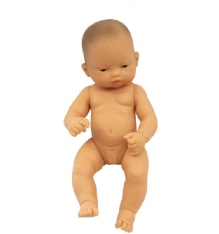 Miniland - 32cm Asian Baby Doll Girl - Rourke & Henry Kids Boutique