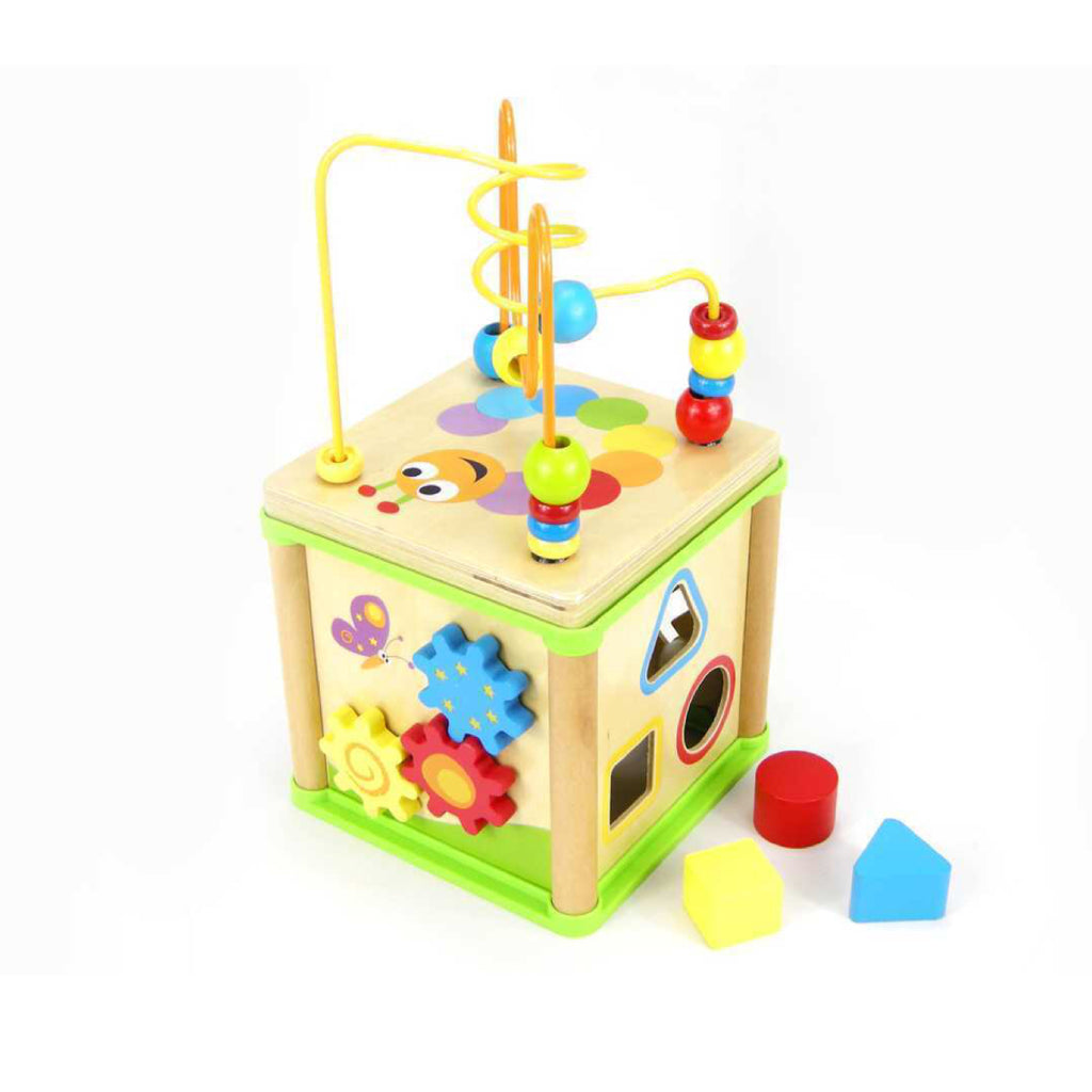 Activity Station - Wooden 5 in 1 - Rourke & Henry Kids Boutique