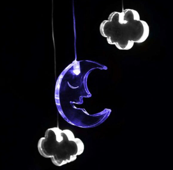 Dream Light Mobile - Moon & Clouds - Rourke & Henry Kids Boutique
