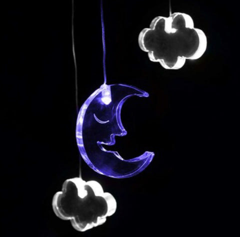 Dream Light Mobile - Moon & Clouds
