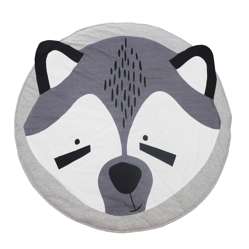 Mister Fly - Racoon Play Mat - Rourke & Henry Kids Boutique