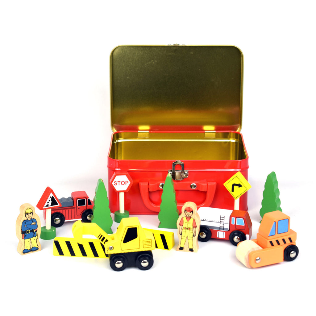Tin Case Set - Wooden Construction - Rourke & Henry Kids Boutique