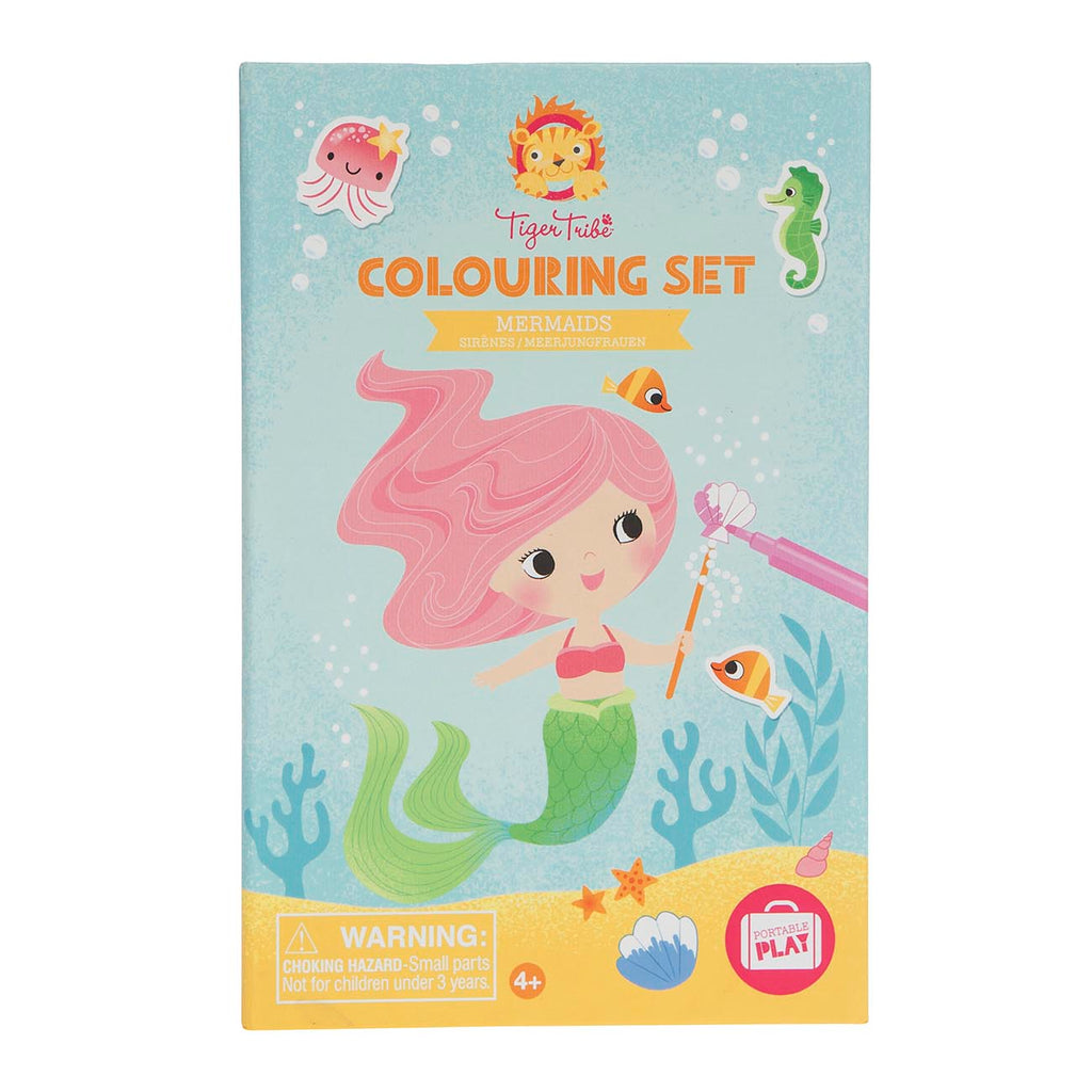 TIGER TRIBE Colouring Set - Mermaids - Rourke & Henry Kids Boutique