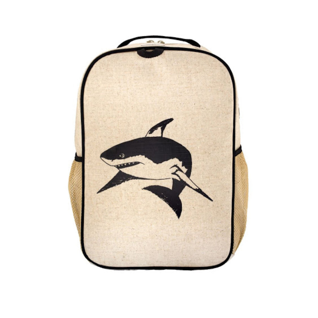 So Young Large Backpack Shark - Rourke & Henry Kids Boutique