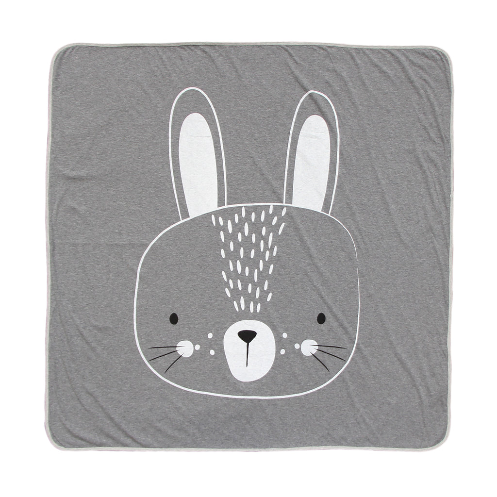 Mister Fly - Grey Bunny Blanket - Rourke & Henry Kids Boutique