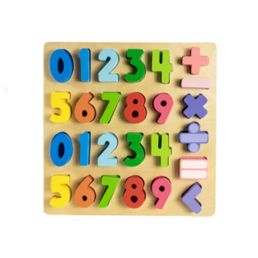 Wooden Maths Skills Puzzle - Rourke & Henry Kids Boutique