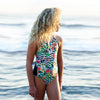 Escargot - Tropical One Piece - Rourke & Henry Kids Boutique