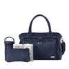 Isoki Nappy Bag Hobo Double Satchel - Esperance Navy - Rourke & Henry Kids Boutique