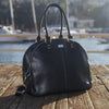 Isoki Nappy Bag Madame Polly - Toorak Black - Rourke & Henry Kids Boutique
