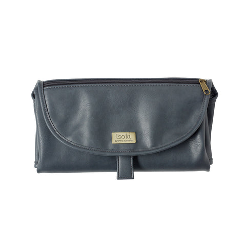 Isoki Change Mat Clutch - Balmain Charcoal