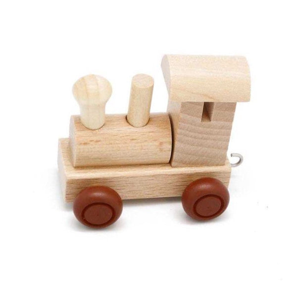 Wooden Name Train Letters - Rourke & Henry Kids Boutique
