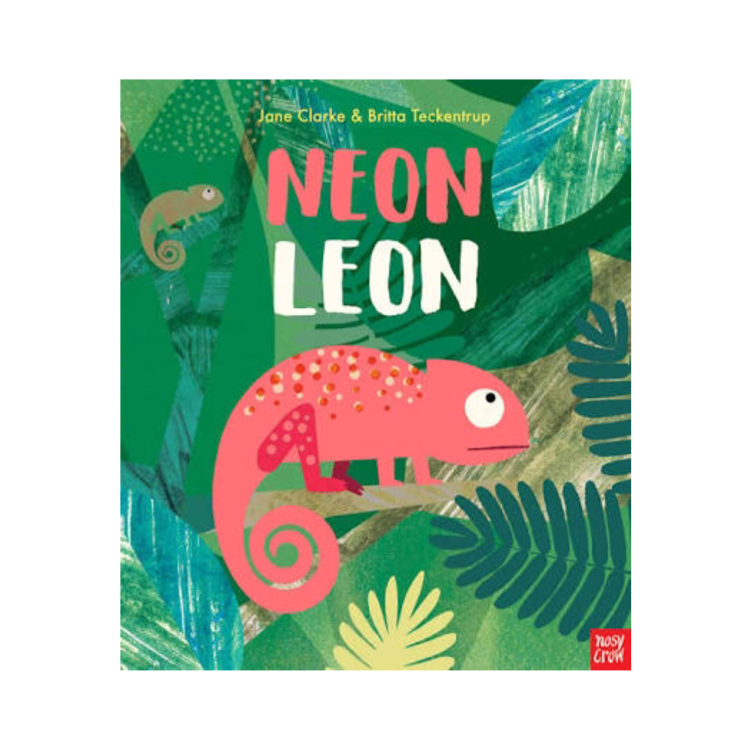 Book - Neon Leon - Rourke & Henry Kids Boutique