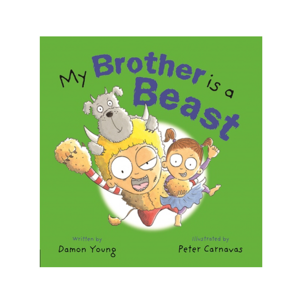 Book - My Brother is a Beast - Rourke & Henry Kids Boutique