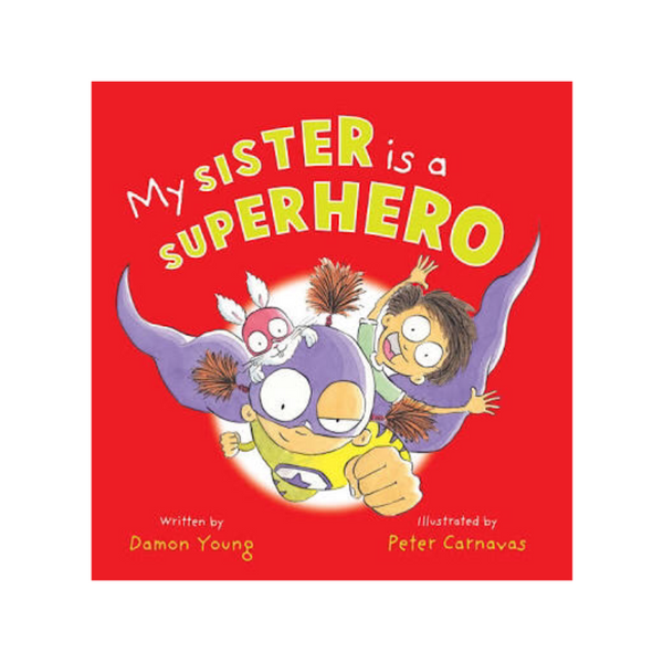 Book - My Sister is a Superhero - Rourke & Henry Kids Boutique