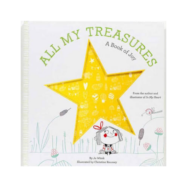 All My Treasures - A Book of Joy - Rourke & Henry Kids Boutique