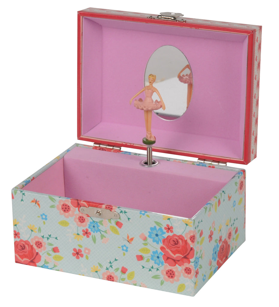 TIGER TRIBE Jewellery Box (medium) - Rose Garden - Rourke & Henry Kids Boutique