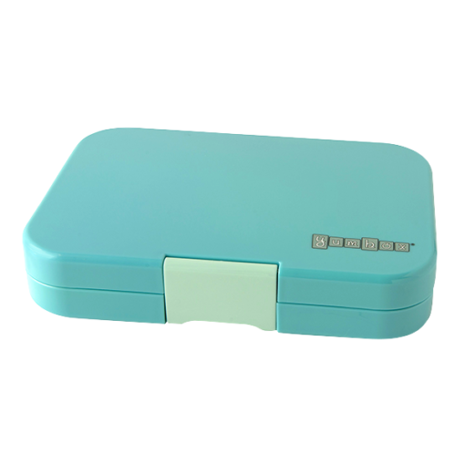 YUMBOX Tapas 4 compartment - Antibes Blue - Rourke & Henry Kids Boutique