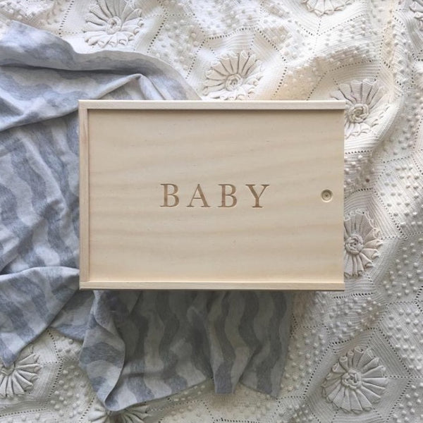 Baby Keepsake Box - Rourke & Henry Kids Boutique