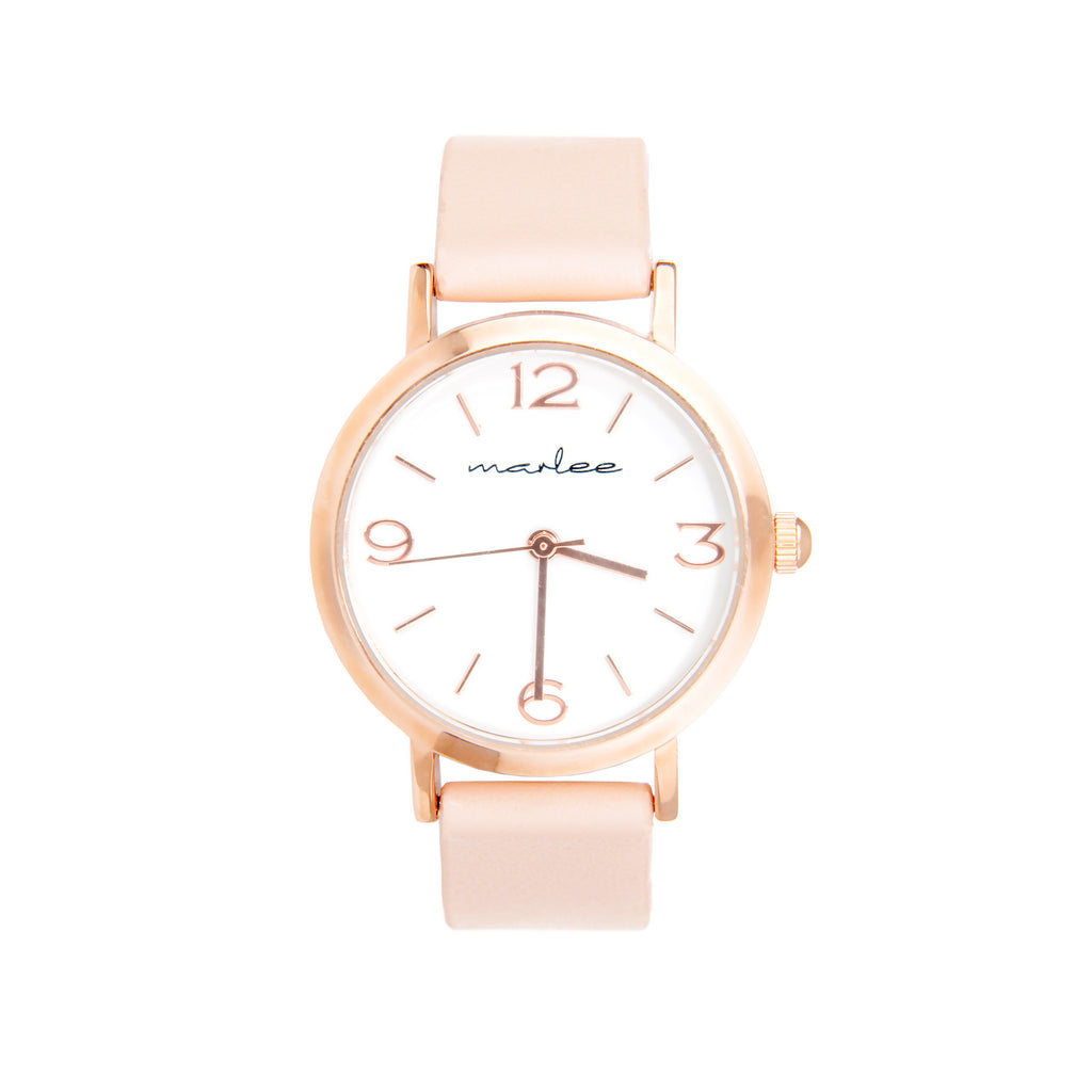 Marlee Watch Co - Blush - Rourke & Henry Kids Boutique