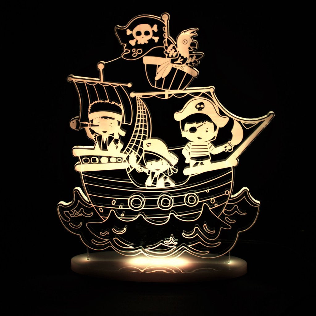 Dream Light – Pirate Ship - Rourke & Henry Kids Boutique