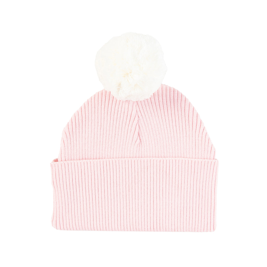 Tiny Twig -  Pom Pom Beanie Soft Pink - Rourke & Henry Kids Boutique