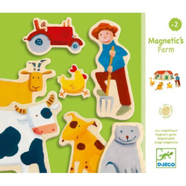 Djeco - Magnetic Farm - Rourke & Henry Kids Boutique