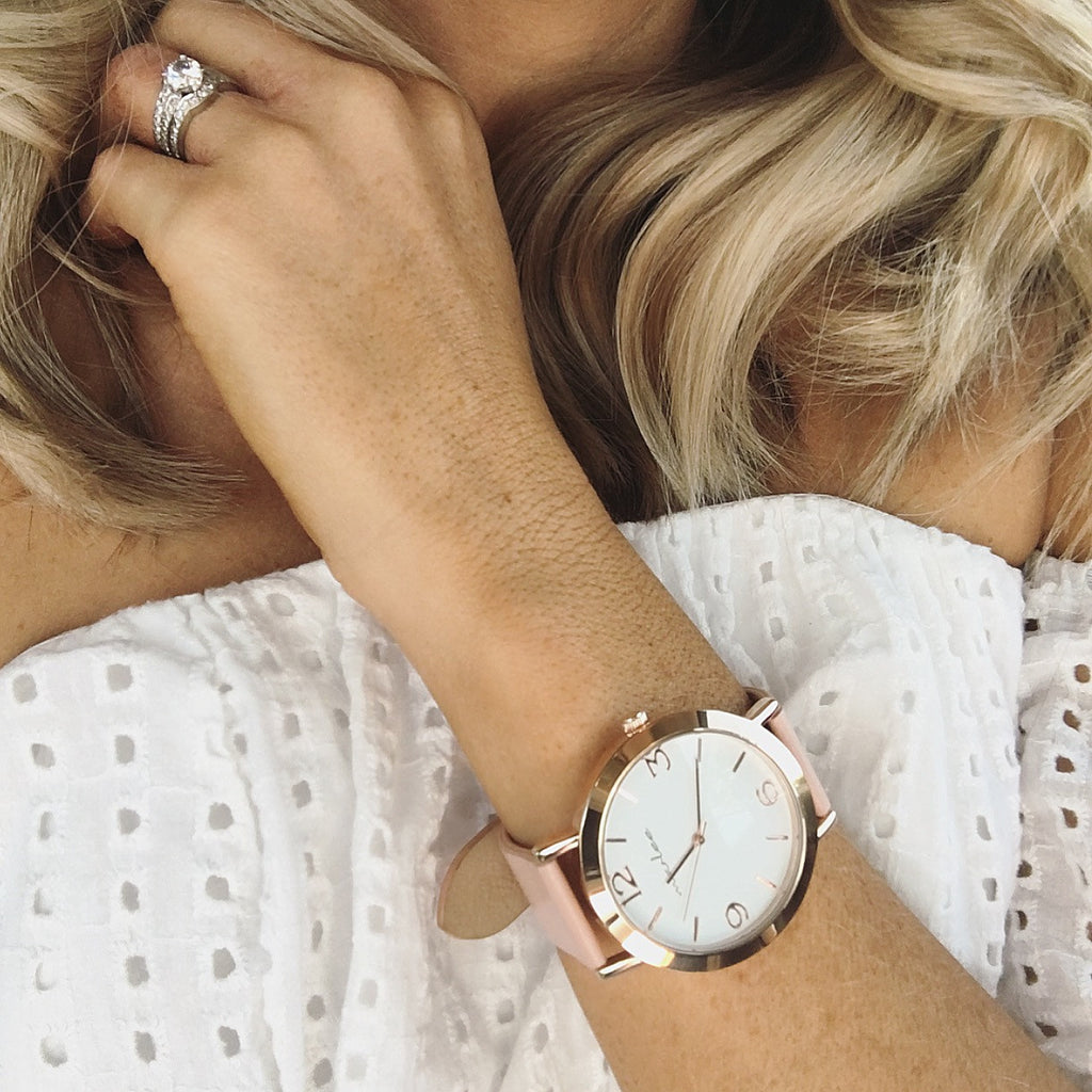 Marlee Watch Co - Adult Blush - Rourke & Henry Kids Boutique