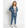 MUNSTER - Girls Detour Denim Slouch Pant - Rourke & Henry Kids Boutique