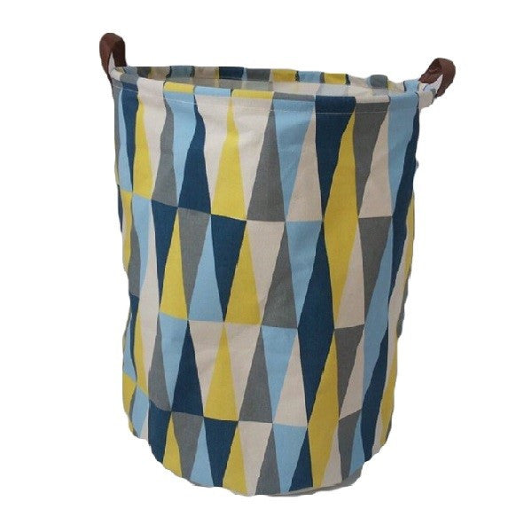 Canvas Storage Basket - Flags - Rourke & Henry Kids Boutique