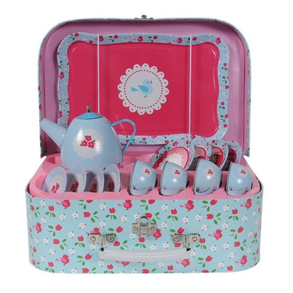 TIGER TRIBE Vintage Tea Set - Bluebird - Rourke & Henry Kids Boutique