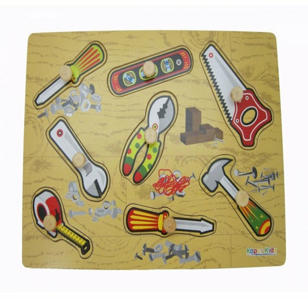 Wooden Tools Puzzle - Rourke & Henry Kids Boutique