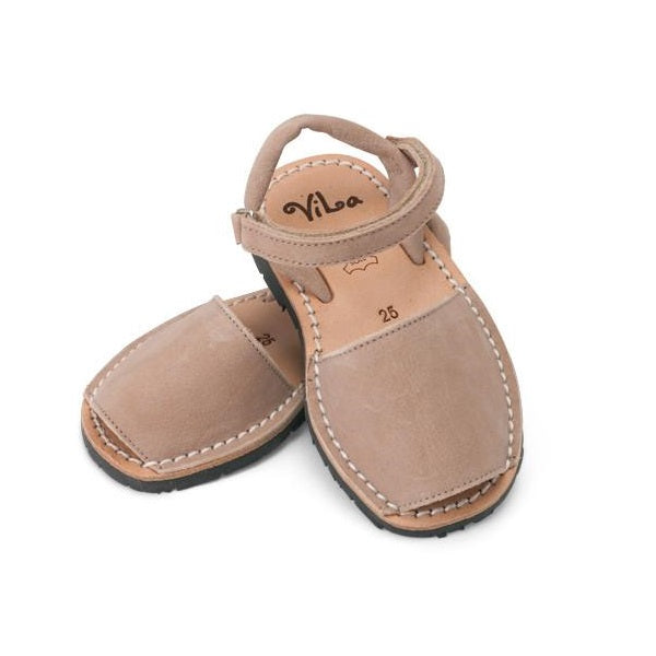 Vila Spanish Sandal - Beige Leather - Rourke & Henry Kids Boutique