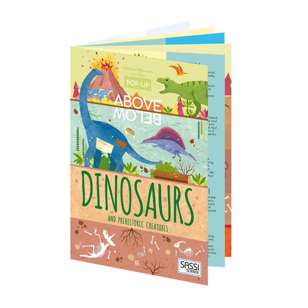 Pop Up Book - Above and Below Dinosaurs - Rourke & Henry Kids Boutique