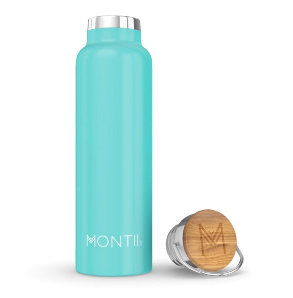 MontiiCo Insulated Drink Bottle - 600ml Teal