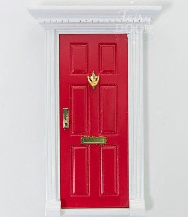 Fairy Door - Red - Rourke & Henry Kids Boutique