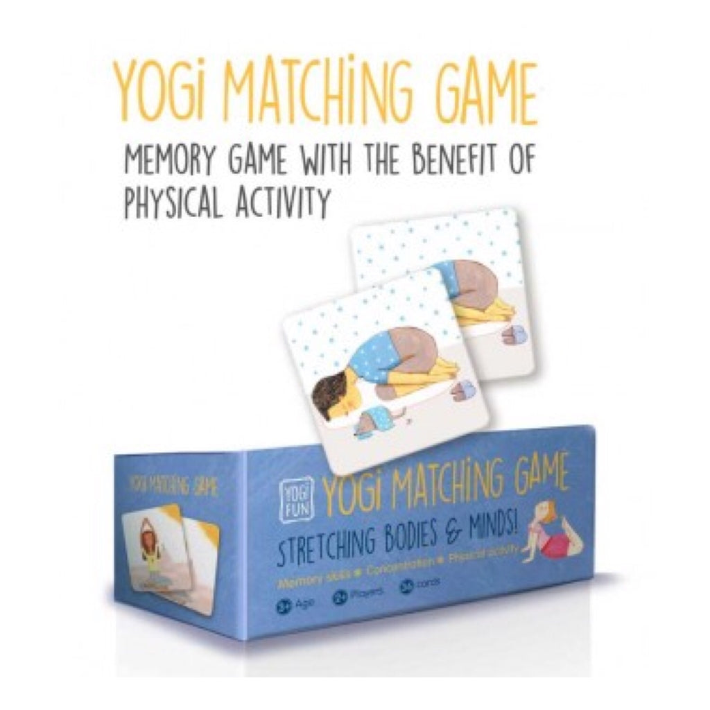 Yoga - Yogi Fun Matching Game - Rourke & Henry Kids Boutique