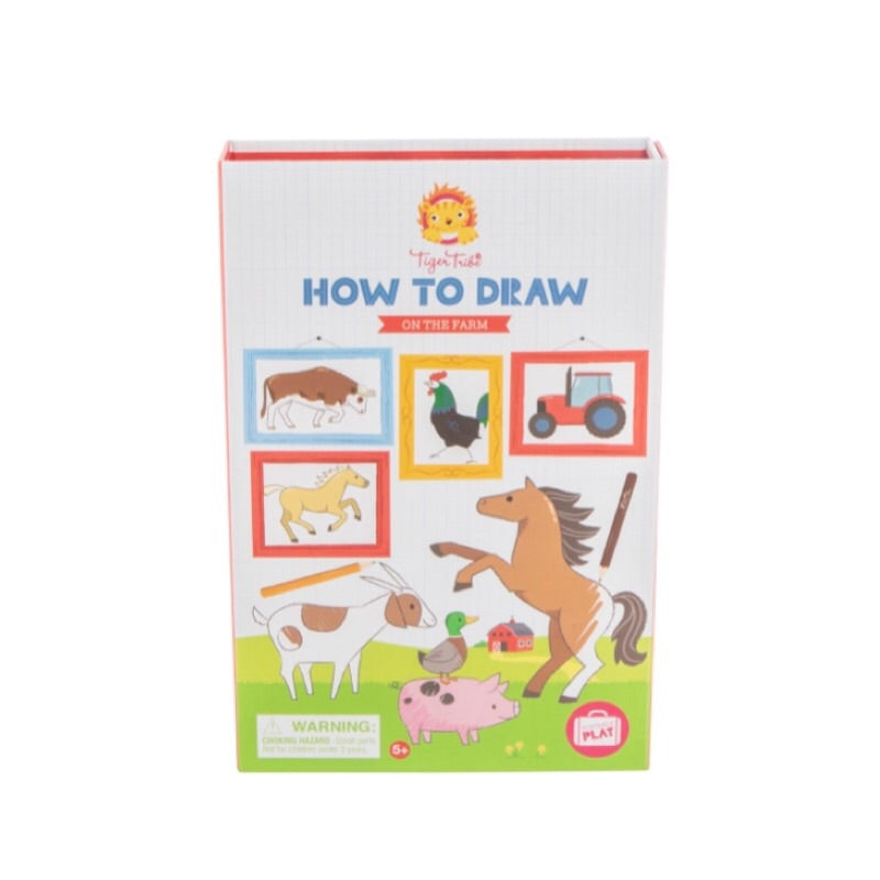 TIGER TRIBE How to Draw - On the Farm - Rourke & Henry Kids Boutique