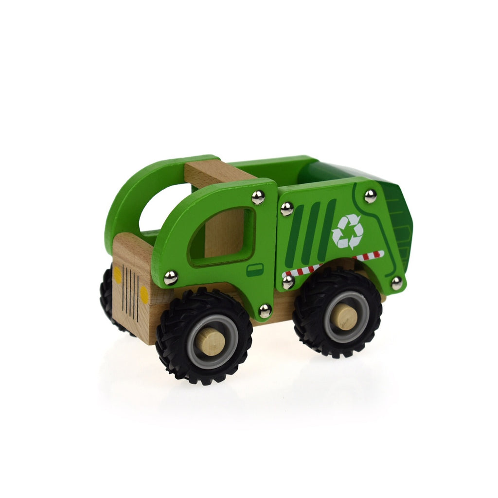 Wooden Vehicle - Recycle Truck - Rourke & Henry Kids Boutique