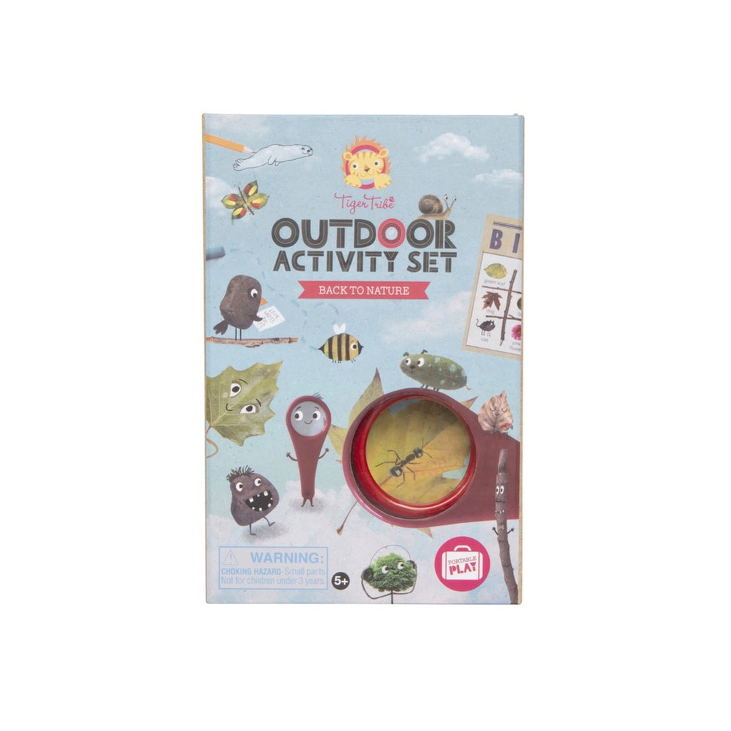 TIGER TRIBE Outdoor Activity Kit - Back to Nature